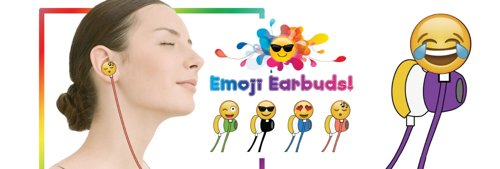 Emoji earphone